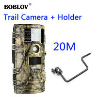 BOBLOV 1080P 20MP Night Vision Game Hunting Wildlife Scouting Camera with Mount
