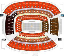 2x Cleveland Browns vs Pittsburgh Steelers  10/31/21 Halloween!!