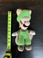 Super Mario Flying Squirrel Luigi. Plush Toy. Great Condition.