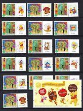 China Hong Kong 2007 Winnie the Pooh Special stamps Cartoon