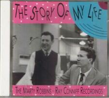 """MARTY ROBBINS-RAY CONNIFF     """"THE STORY OF MY LIFE""""     BEAR FAMILY  CD"""