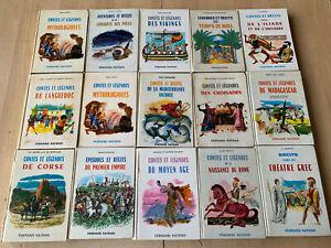 lot 15 livres Contes et légendes - Fernand Nathan