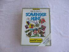How to Host a Scavenger Hunt Traveler Safari Game 1990~New & Factory Sealed!