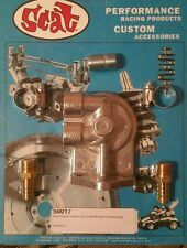 SCAT VW  BUG BUS GHIA FULL FLOW POINTS RIGHT SPIN ON OIL FILTER ADAPTER 50017