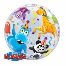 Animals Party Bubble Balloons
