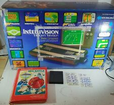 Boxed Intellivision Console with Sea Battle TESTED