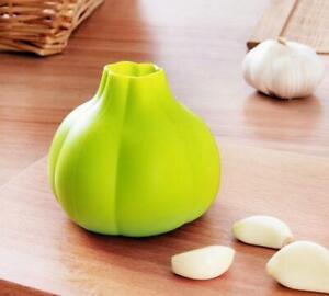 Home Kitchen Accessories Rubber Garlic Peeler Garlic Presses Ultra Peeled Tools