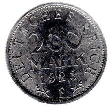 200 Mark 1923 F Weimarer Republik in unzirkuliert