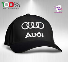 Cappello Berretto Hat Cappellino Houston 5 pannelli NERO - AUDI