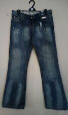 Cotton Stonewashed Jeans Women's L32 Bootcut