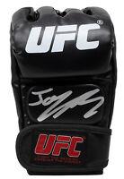 Jorge Masvidal Signed Black UFC Glove JSA ITP