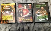 HIGHSPOTS Piper & Roberts Shoot Interview DVDs (PAL) + Russo & Ferrera DVD Set