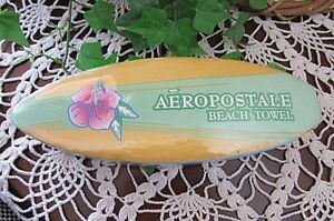Aeropostale Beach Towel New Expands With Water-HAWAIAN FLORAL