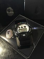 NEW A BATHING APE x CASIO G-SHOCK DW-6900 w/ Box Bag & Papers