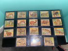 VINTAGE+JUNGLE+CHEWING+GUM+CARD+LOT+18+Trading+Cards
