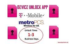 METROPCS T-MOBILE DEVICE UNLOCK APP HTC SAMSUNG LG KYOCERA ALCATEL ZTE 1-24Hours