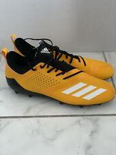 Adizero Yellow Lowtop Football Cleats Size 15 #120614954