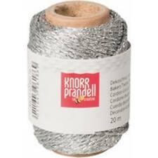 Dekoschnur Metallic Silber 20 M Knorr Prandell 216266170 (4011643961869)