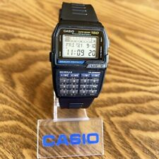CLEAN Vintage 1996 Casio DBC-150 Digital Data Bank Calculator Watch, Module 1477