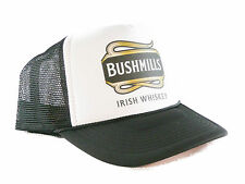 Bushmills Irish Whiskey Trucker Hat mesh hat snapback hat Black