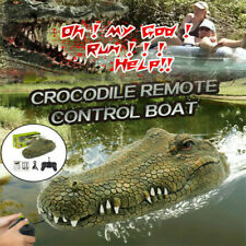 2.4G Remote Control Electric Crocodile Head Spoof Toy Flytec V002 Rc Boat H5