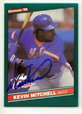 New York Mets Kevin Mitchell signed autographed Rookie card 1986 Rc Donruss auto