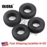 """4PCS 1.9"""" Voodoo KLR Tires for 1:10 RC Crawler Axial SCX10  D90 TF2 MST CC01"""