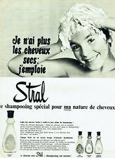 Publicité Advertising 0089  1967  shampooing Stral