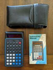 Melcor vintage scientific calculator Sc-635 w/ case and manual 1970s