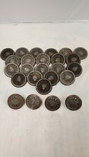 "TRAIN WHEELS 2"" ROUGH CASTINGS LOT OF 25 PIECES"
