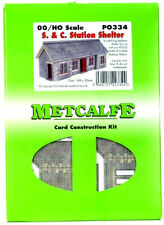 PO334 Metcalfe OO Gauge Scale Settle & Carsile Station Shelter Card Building kit