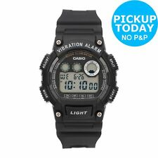 Casio Men's Vibration Alarm Watch - Black