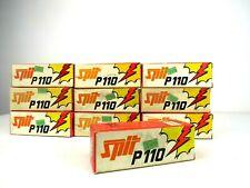 1000 x Spit p110 calibre Cal 6.3/12  P45 P60 P200 P70SR P370 RED
