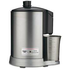 New Waring Pro JEX328 Health JUICE EXTRACTOR Brushed Stainless Steel 400 Watts