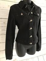 Ecko Red Womens Denim Jacket Size Small Black