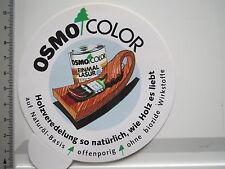 Aufkleber Sticker Osmo Color - Holzveredelung - Naturöl-Basis (6486)