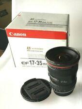 Canon EF 17-35 mm  f/2.8 L USM Lens EOS *** (not 16-35mm !!!) *** f 2.8 L
