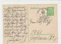 Germany 1938 International Exhibition Berlin cancel Stamps Card ref R 16313