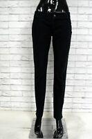 JUST CAVALLI Pantalone Slim Nero Donna Taglia Size 40 Jeans Trousers Woman Black