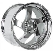 18X8.5 18X9.5 +35 Whistler KR1 5x120 Chrome Wheel Fits E36 Z3 E85 Z4 STAGGERED