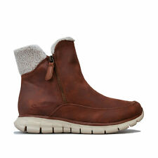Womens Skechers Synergy – Collab Boots In Chestnut