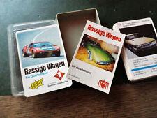 Rassige Wagen - Quartett - Berliner Spielkarten 631 6764 - Komplett -  Top !