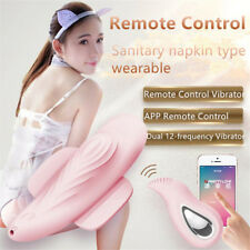 Invisible C String Vibrating Panties Bluetooth APP Remote Vibrator Toy in Panty