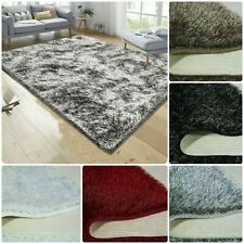 New Non slip Fluffy Thick Shaggy Natty Rug Hallway Rug Runner Living Room Carpet