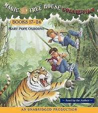 Magic Tree House Collection Books 17-24 by Mary Pope Osborne (CD-Audio, 2005)