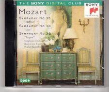(HH429) Mozart, Symphony No 35, 36 & 38 - 1995 CD