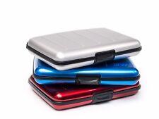Cartera de Aluminio metafun tarjeta de crédito RFID-Plata Grabado Funky Calcomanía opciones