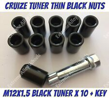 Alloy Wheel Nuts BLK Tuner x 10 M12x1.5 Toyota Lite ace Masterace Mr2