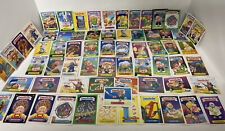VINTAGE Garbage Pail Kids Card Lot Of 60 + Cards (Stickers) AS IS NO RETURNS