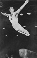 1956 MELBOURNE OLYMPICS 'PASTCARDS'~ Takashi Ono (Japan) - SILVER - Gymnastics